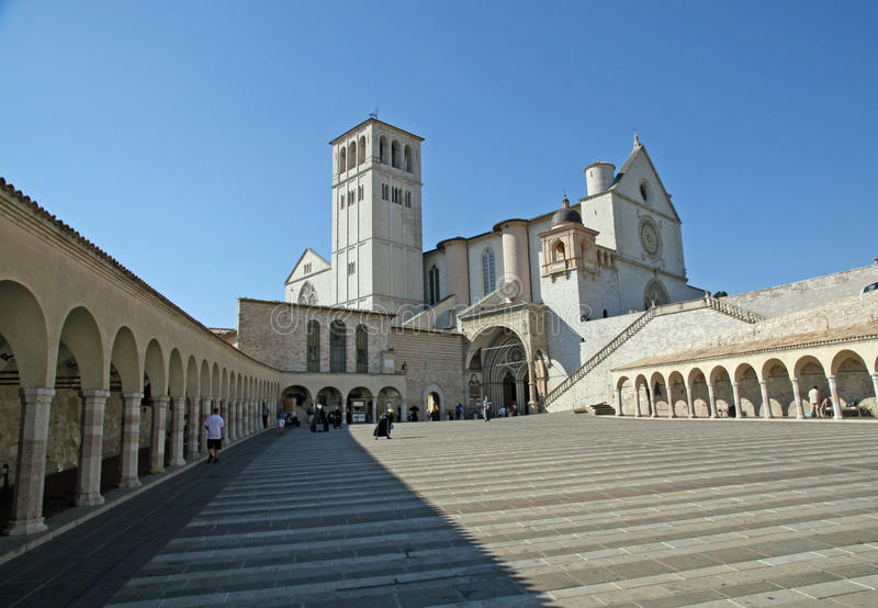 Download Square Of The Basilica Of Saint Francis Stock Image - Image: 26393503