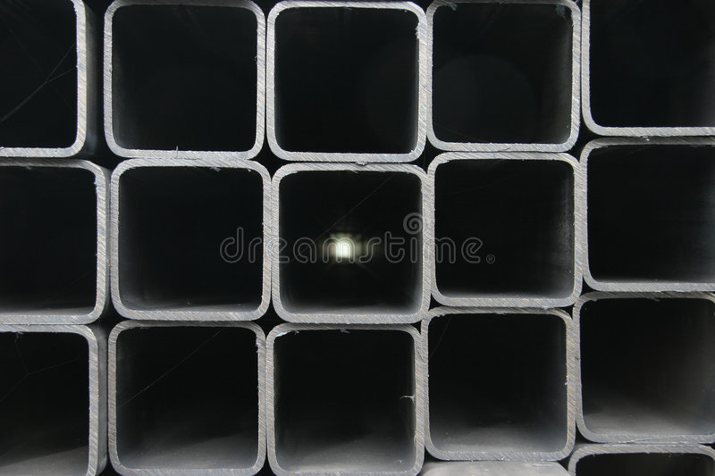 Square beams industrial background royalty free stock images