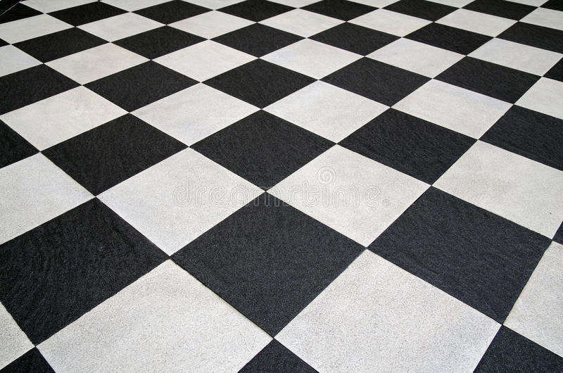 Square black and white tiles floor stock image image of for White square floor tiles