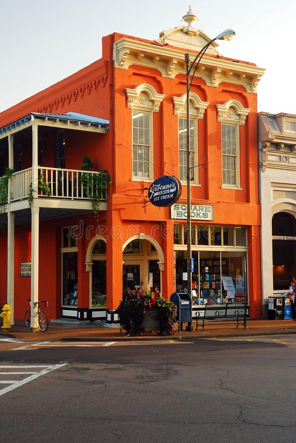 Square Books, Oxford, Mississippi royalty free stock photo