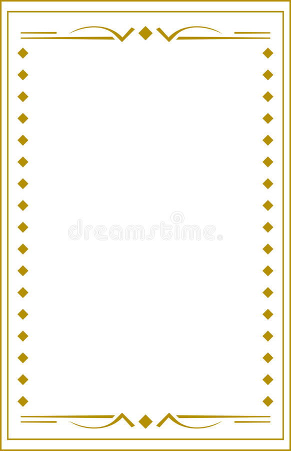 Download Square border stock illustration. Image of abstract, edge - 15184419
