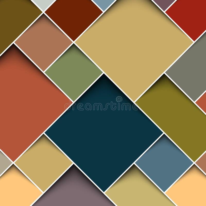 Square color background stock illustration