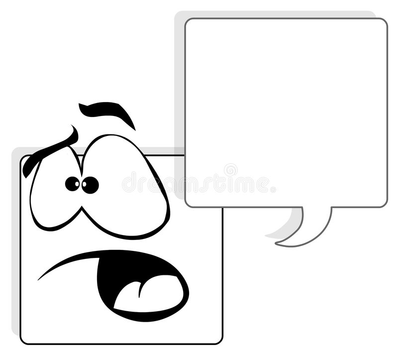 Download Square face stock illustration. Image of character, line - 5714830