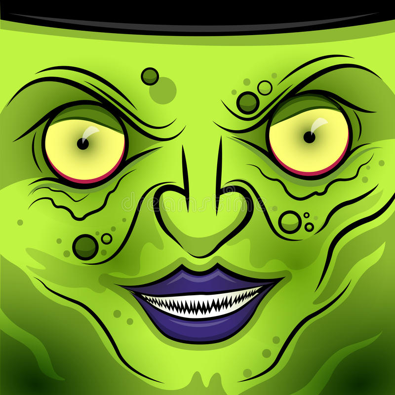 Download Square Faced Wicked Witch Royalty Free Stock Photo - Image: 37384825