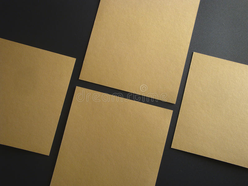 Square Flyer. Letterheads template. Changeable background . Flat lay. Flat design stock images