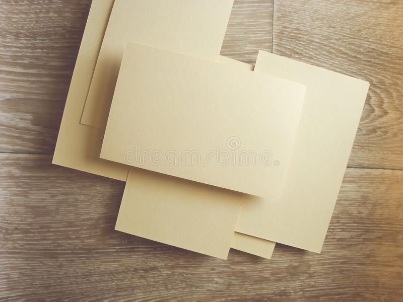 Square Flyer. Letterheads template. Changeable background . Flat lay. Flat design royalty free stock photo
