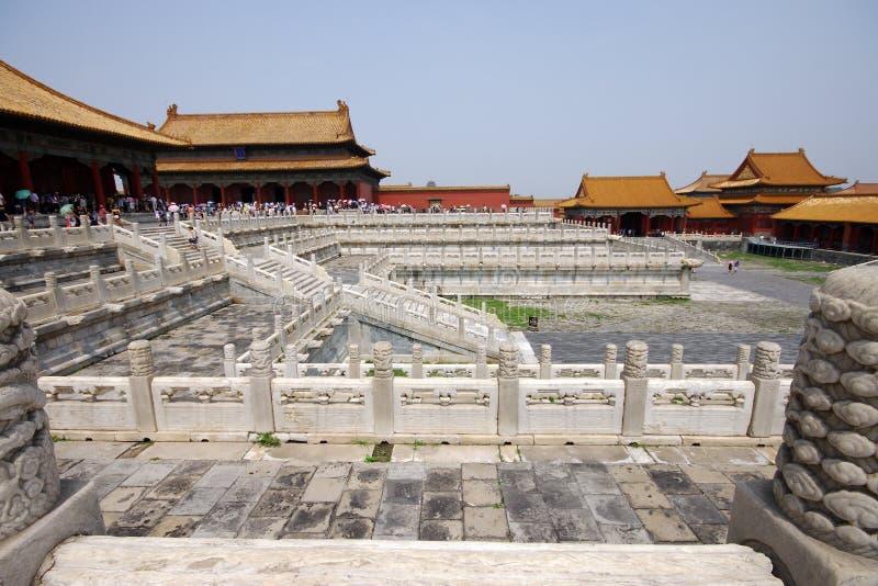 Square In Forbidden City Editorial Photo