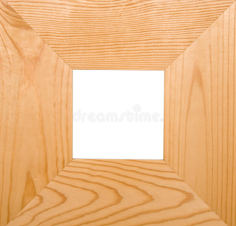 Download Square frame stock image. Image of isolated, wood, photo - 11504079