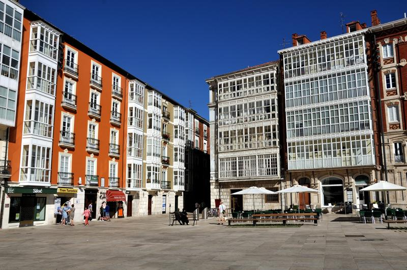 Download Square In Front Of Cathedral De Burgos Editorial Photography - Image: 26153652