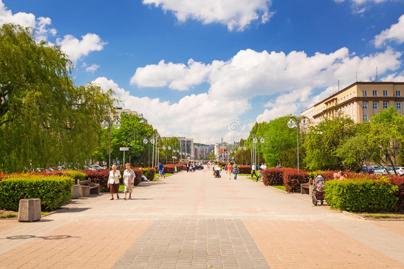 Download Square In Gdynia In Sunny Day, Poland Editorial Stock Image - Image: 31188289