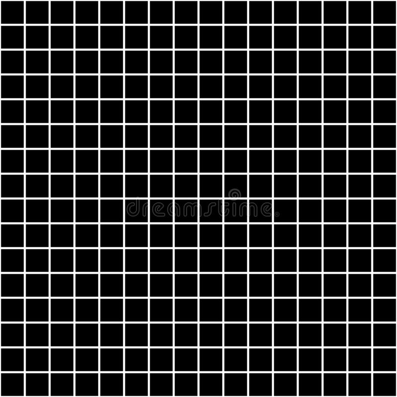 Square grid vector seamless pattern. Subtle dark checkered repeat background, simple design vector illustration