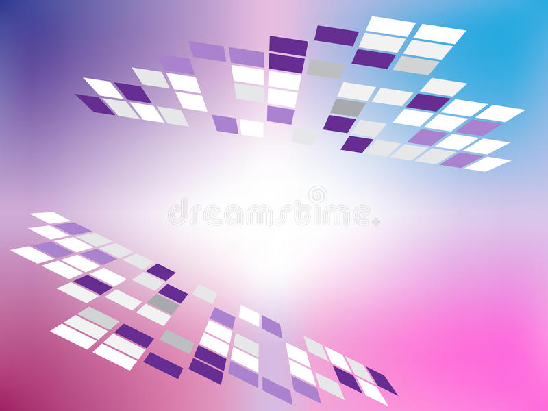 Square Grids Background Means Geometric Design Or Digital Art royalty free illustration