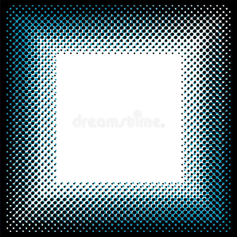 Download Square halftone pattern stock vector. Image of fashion - 3016271