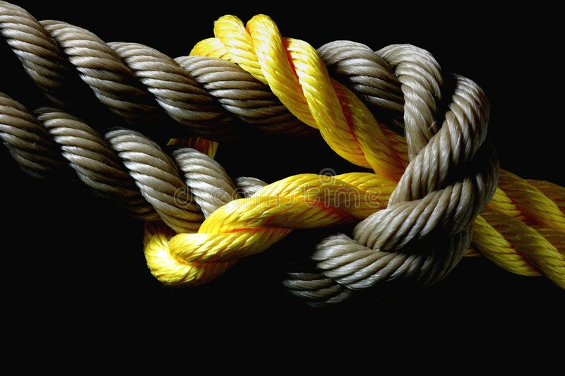 Square Knot royalty free stock image