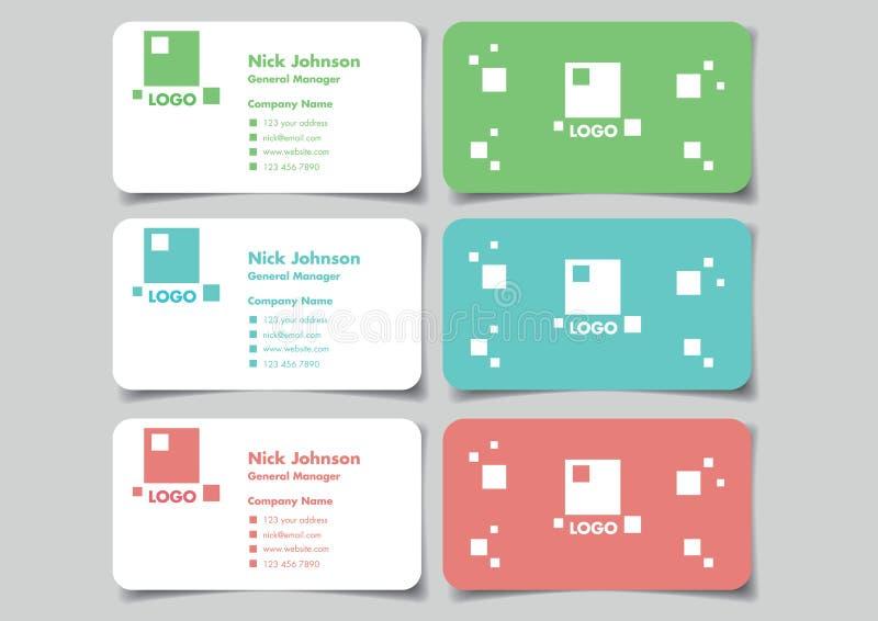 Square logo business name card mock up set vector design stock download square logo business name card mock up set vector design stock vector illustration of reheart Choice Image