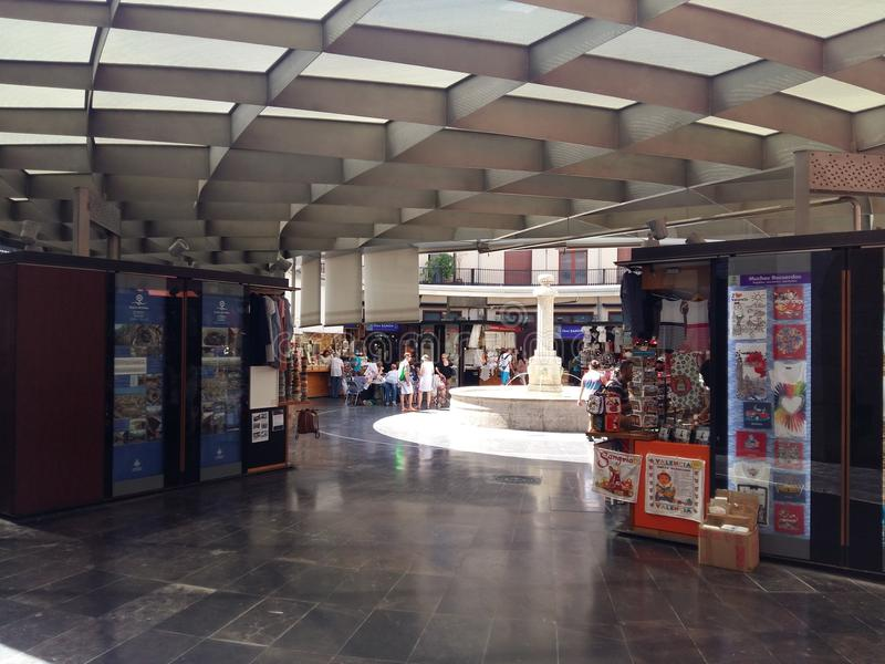 Square market place stock photo