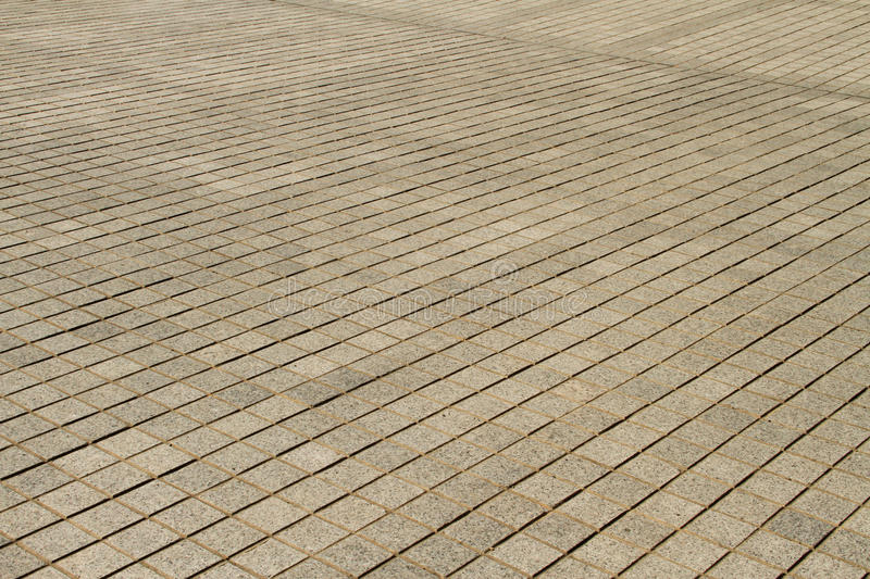 Square paving. Landscape orientation square pave stone background with copy space stock images
