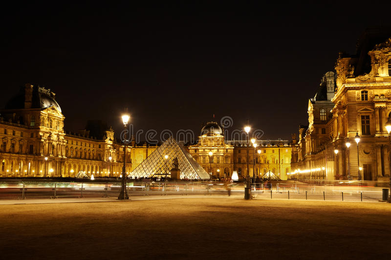 Download Square With Pyramid And Equestrian Statue Editorial Stock Image - Image: 20004874