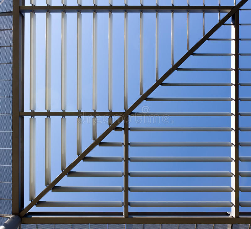 Download Square Roof Made Of Steel With Lights And Shadows Royalty Free Stock Images - Image: 21989859