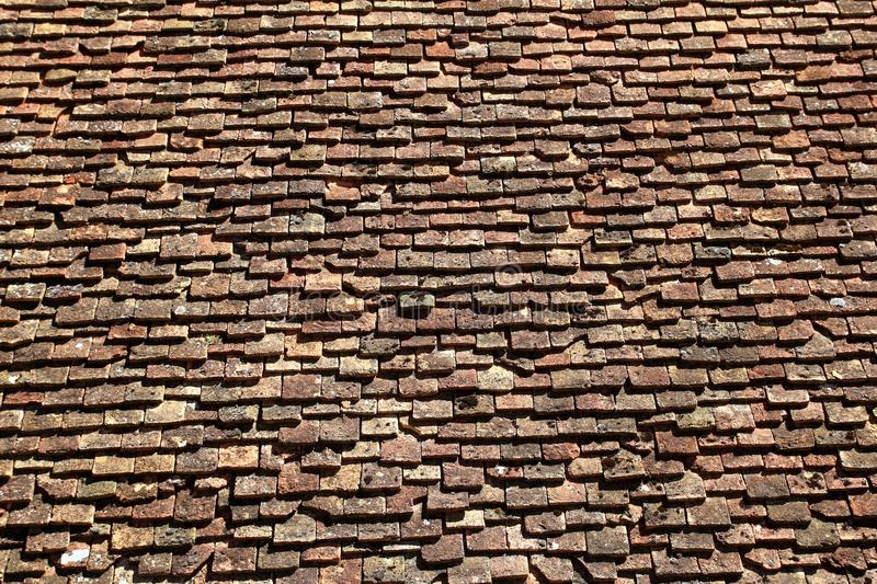 Download Square Roof Tiles Plain Clay Pattern Weathered Stock Photo - Image of masonry, grungy: 17044792