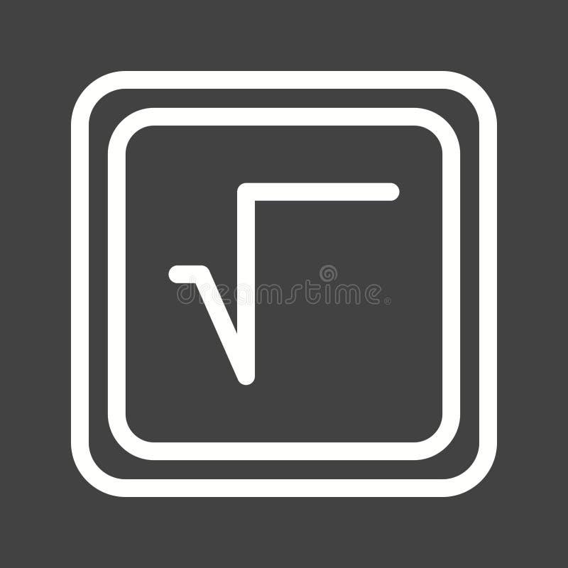 Square Root Symbol Stock Illustration Illustration Of Measure