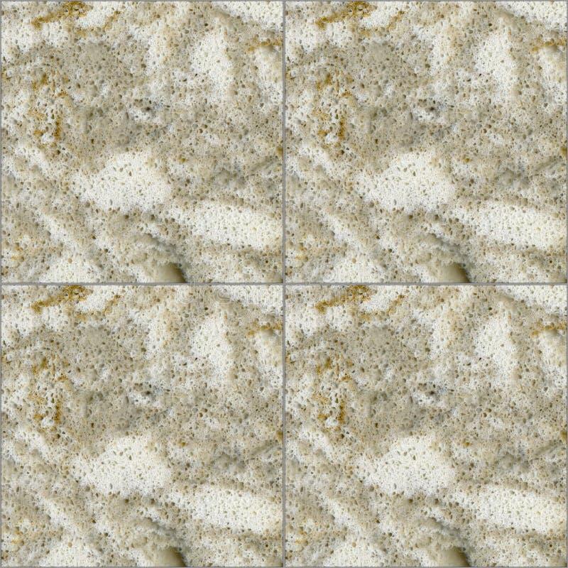 Square seamless beige quartz ceramic mosaic tile texture background. Square seamless beige quartz ceramic mosaic tile texture stone background royalty free stock photo