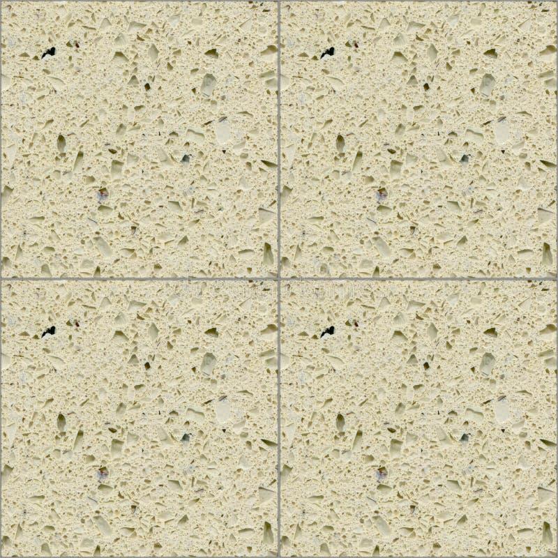 Square seamless beige quartz ceramic mosaic tile texture background. Square seamless beige quartz ceramic mosaic tile texture stone background royalty free stock images
