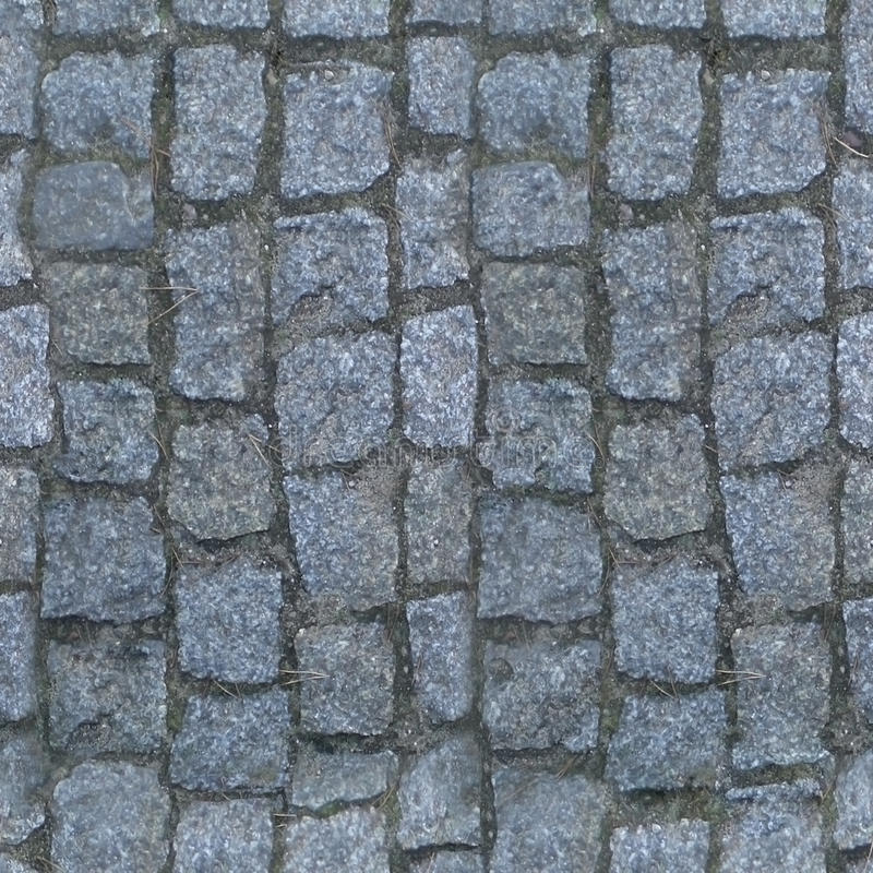 Square seamless paving stones texture. Ready for any game engine royalty free stock image