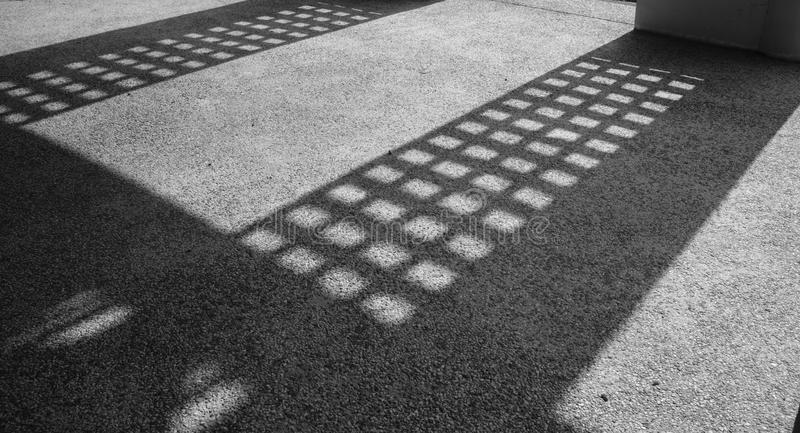Square shadows royalty free stock image
