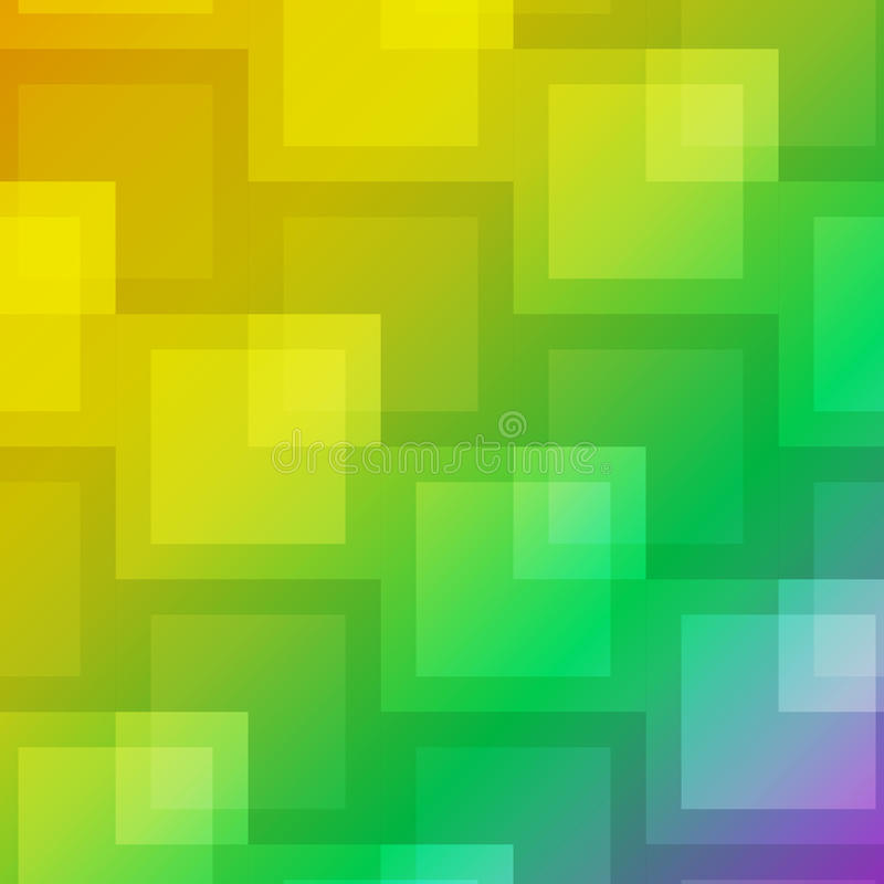 Square shape abstract on colorful background vector illustration