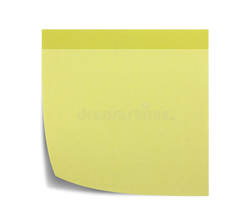 Download Square Sticky Note, And Shadow Stock Illustration - Image: 35237986