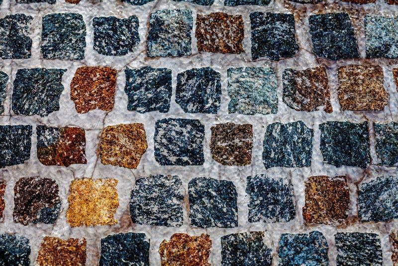 Square Stone Paving royalty free stock photo