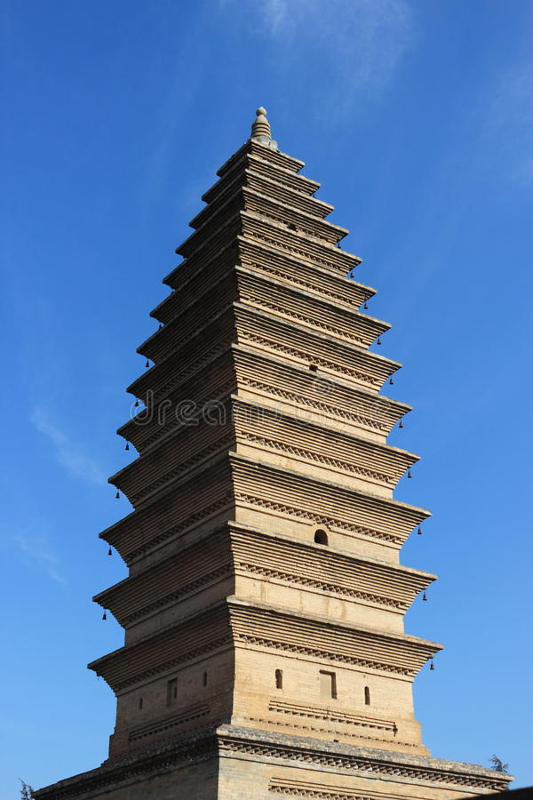 Square tower royalty free stock photography