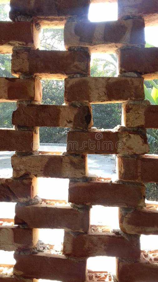 Square Wall royalty free stock photography