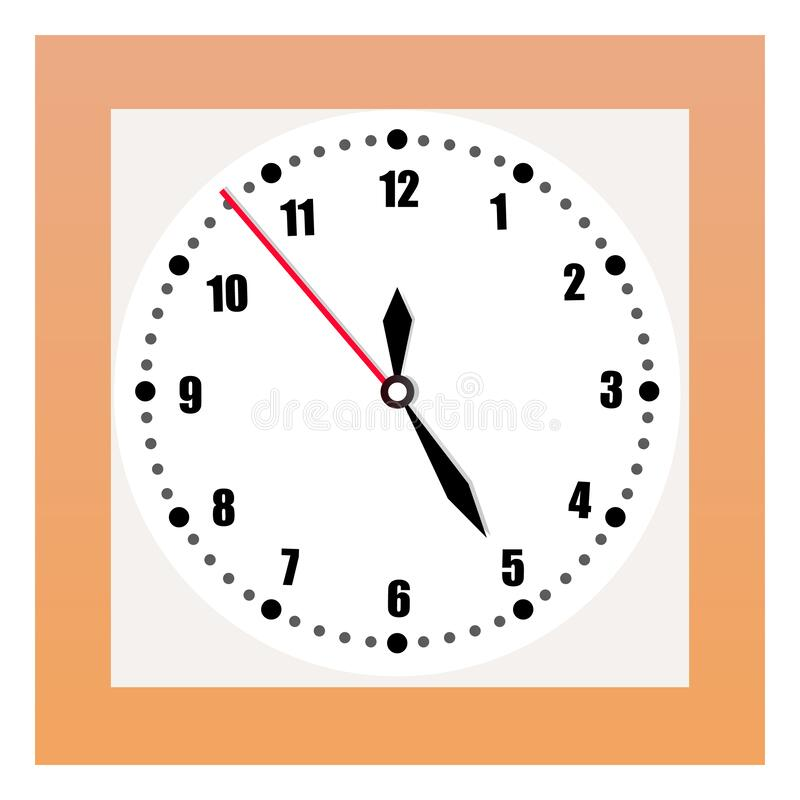 Square Wall Clock Stock Illustrations 1 126 Square Wall Clock Stock Illustrations Vectors Clipart Dreamstime