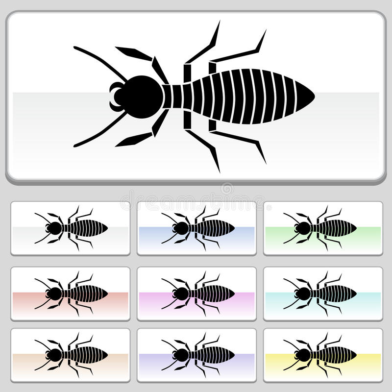 Download Square Web Buttons - Termite Stock Vector - Image: 10203178