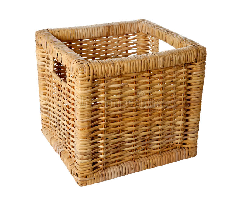 Download Square Wicker Basket Stock Image - Image: 26463651