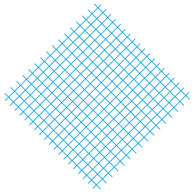 Free Square With Blue Lines Royalty Free Stock Image - 10583426