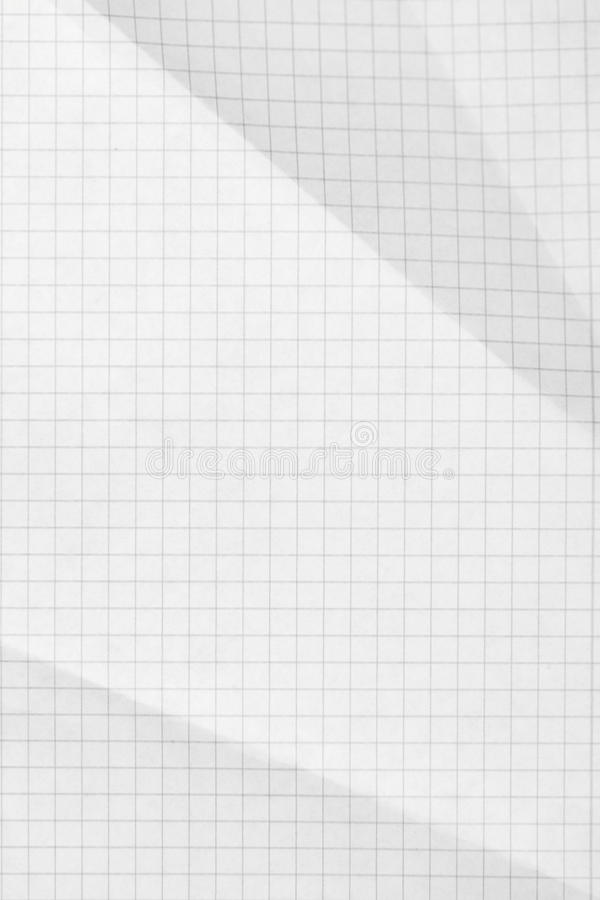 Squared sheet of paper background royalty free stock photography