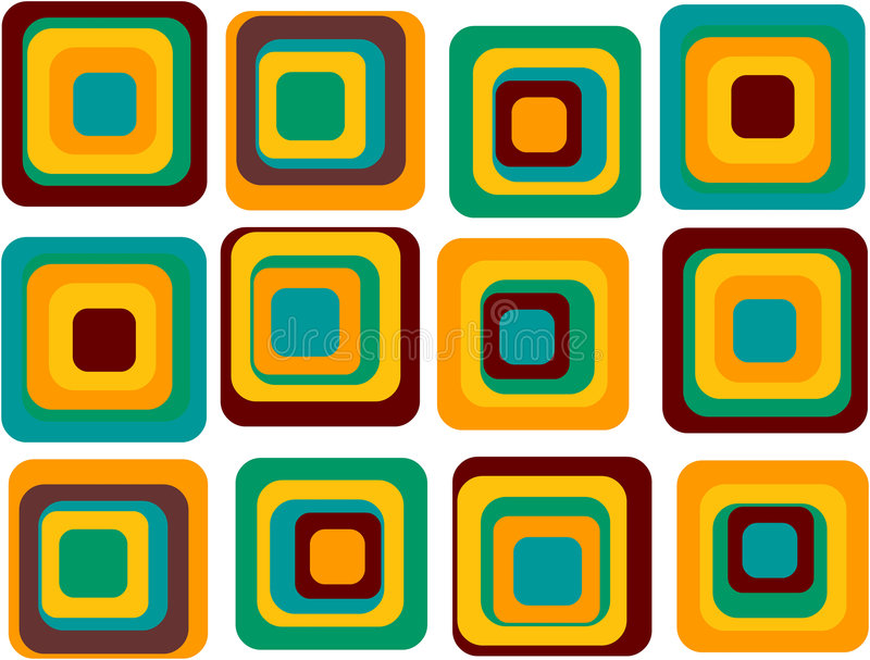 squares ελεύθερη απεικόνιση δικαιώματος
