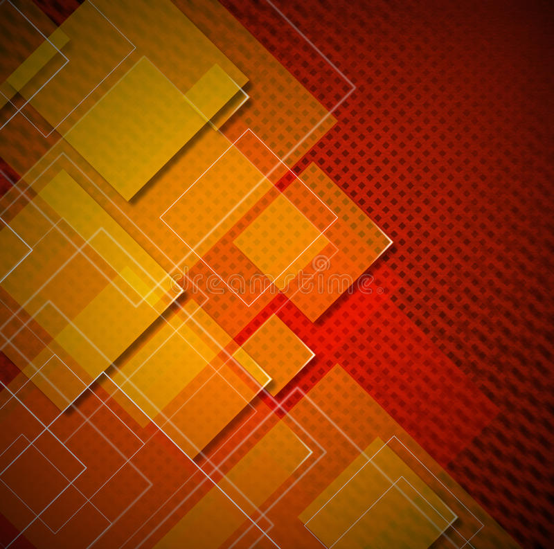Squares Abstract Background vector illustration