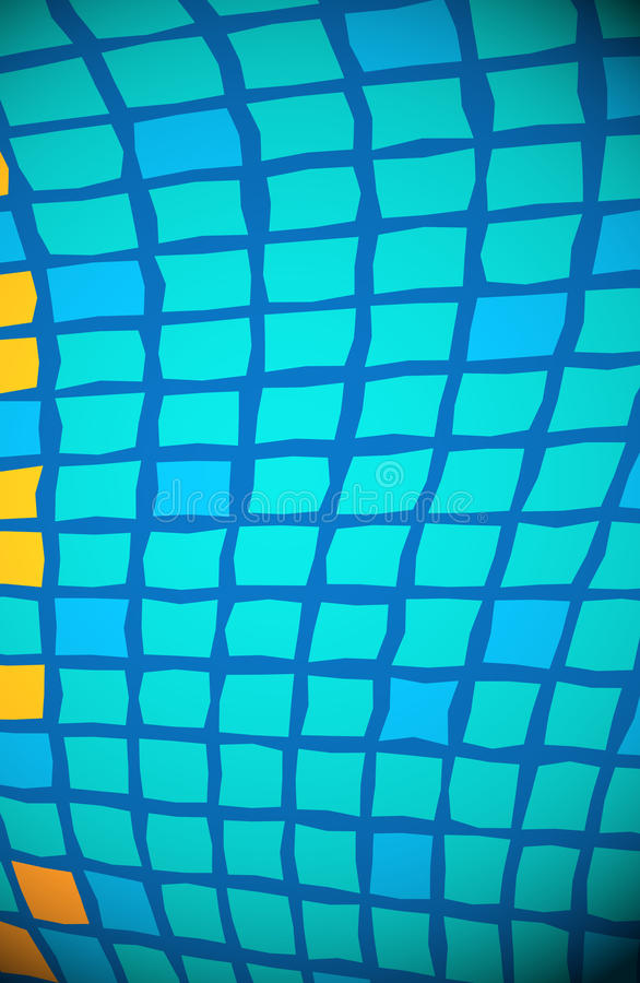 Squares Background Blue. Square, man! This colorful, abstract background will add energy to your project and is useful in a variety of applications. From Jazz vector illustration
