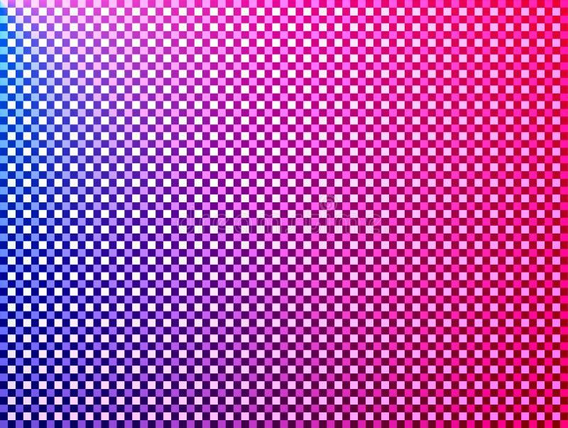 Download Squares � Red Blue Pink Violet Stock Illustration - Illustration of optic, radial: 161985