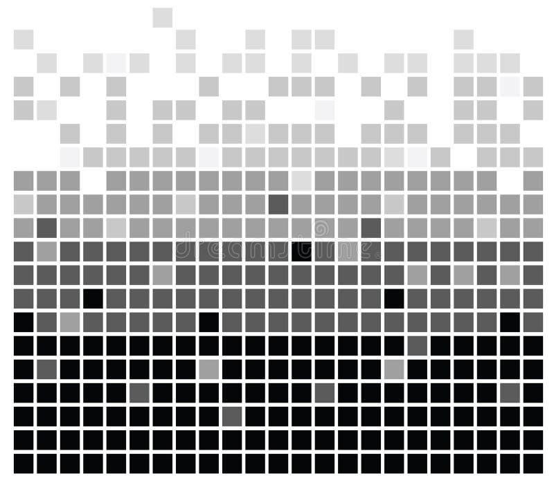 Squares texture mono III. Squares texture mono in vector royalty free illustration