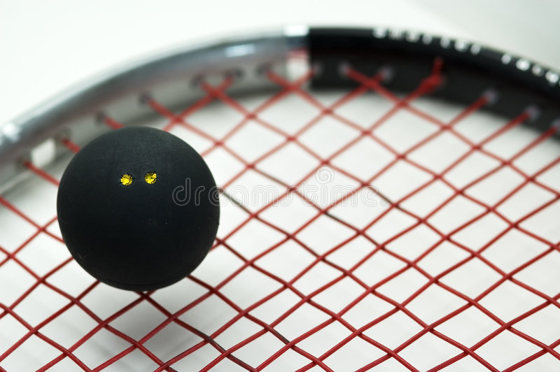 Squash sport royalty free stock photos