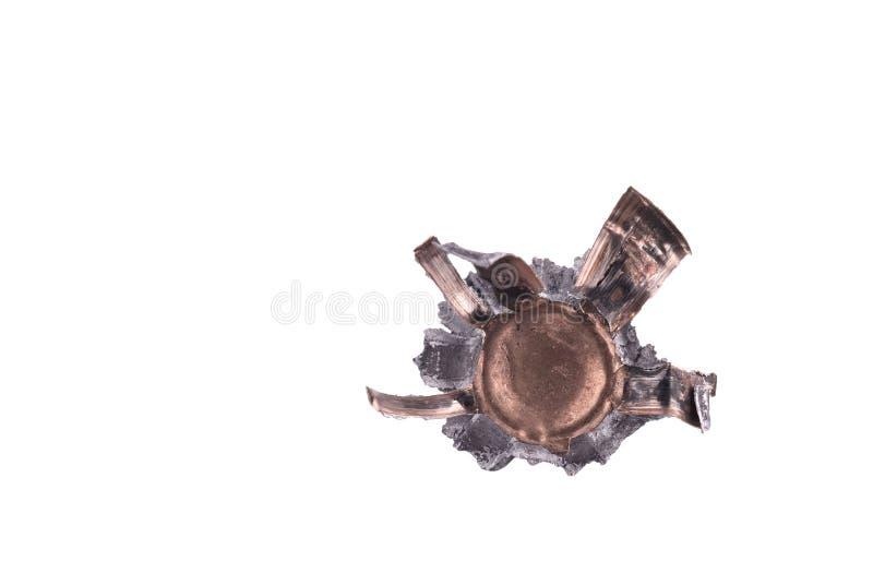 Download Squashed bullet stock image. Image of pistol, magnum - 11987569