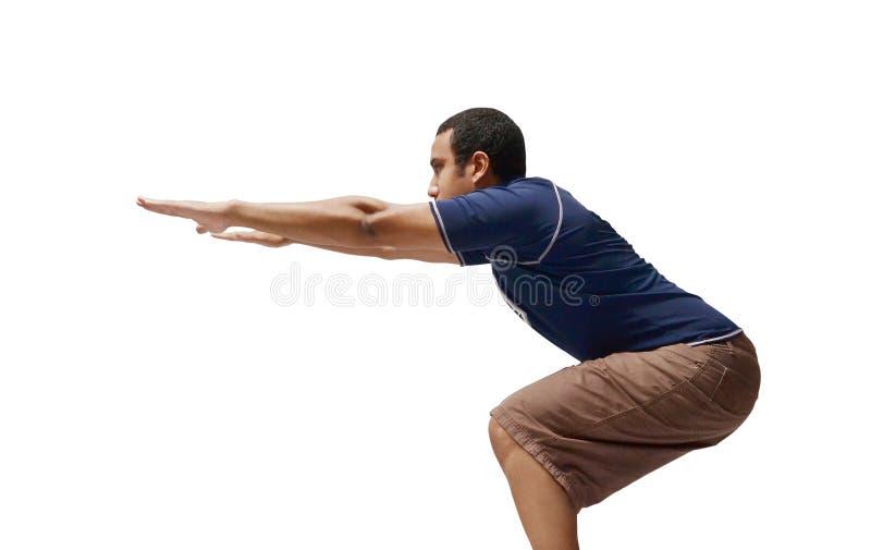 squat photo stock