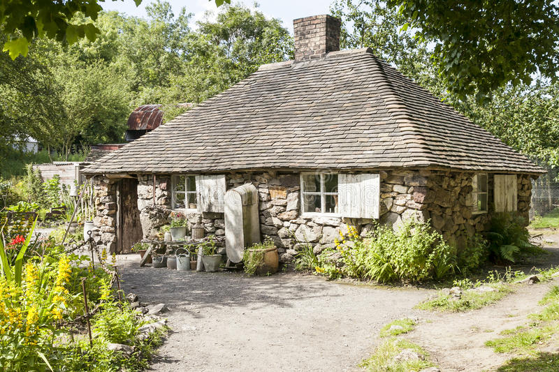Squatters Cottage. stock image