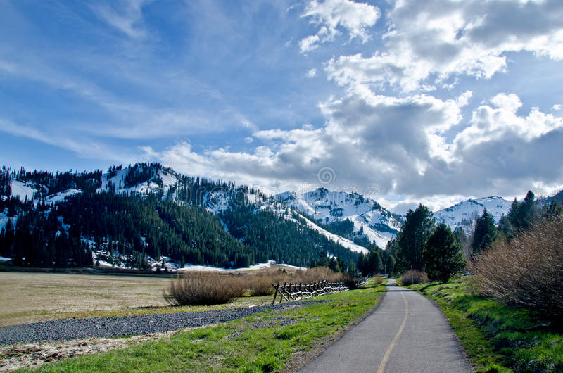 SQUAW VALLEY royalty free stock photos
