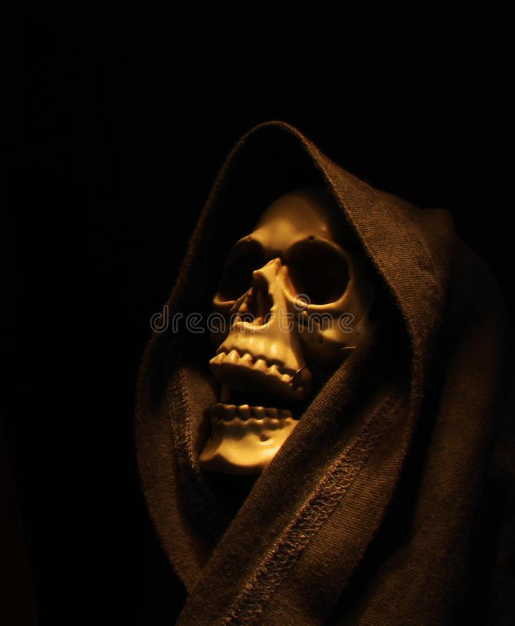Squelette fantasmagorique photo libre de droits